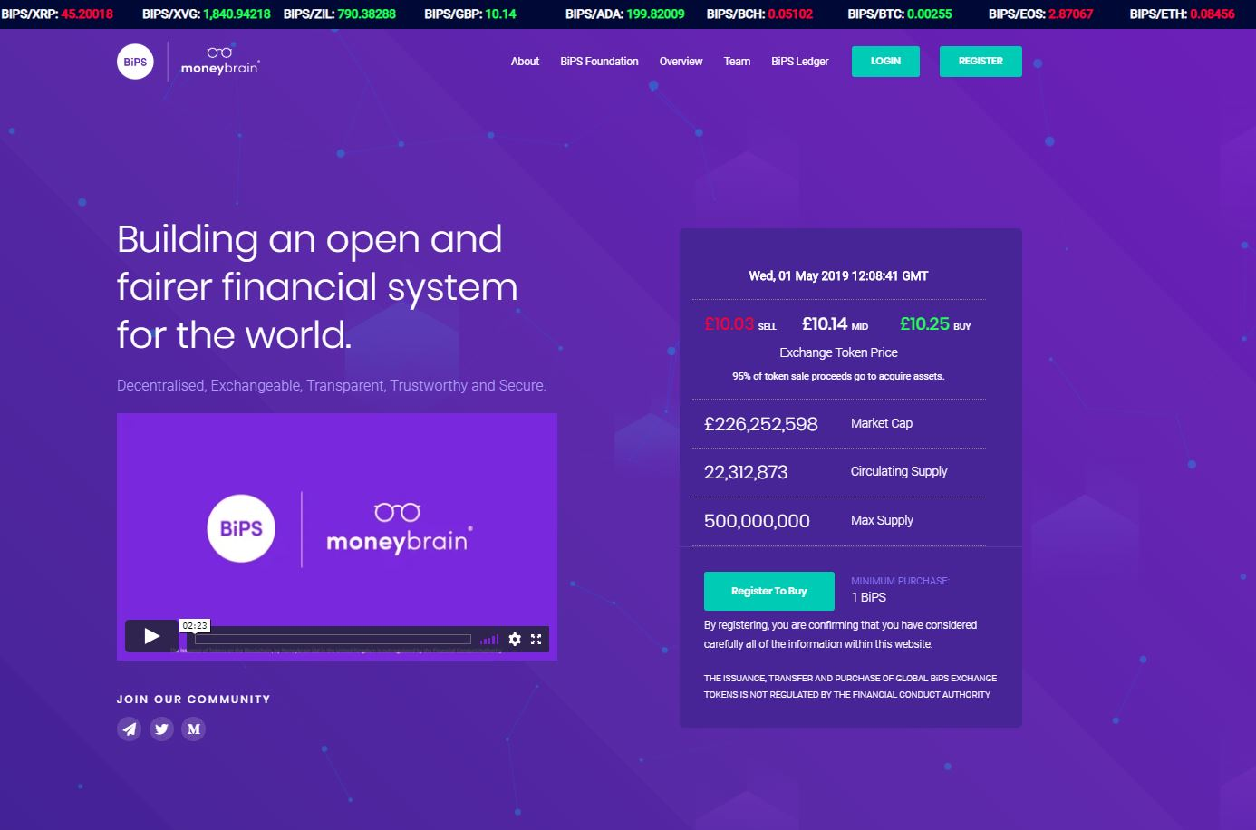 BiPS-Join us and help build an open and fairer financial system for the world.