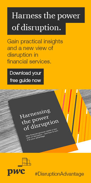 PwC-Practical insights to respond to disruption in financial services