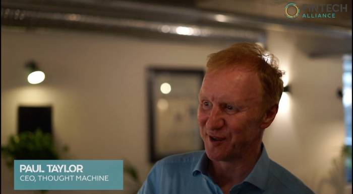 Short Take - Paul Taylor, CEO Thought Machine