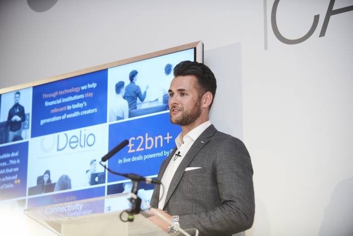 Delio's CEO scoops up accountancy award for embracing technology