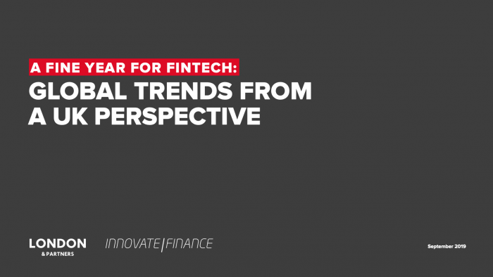 'A fine year for FinTech' says report on UK trends