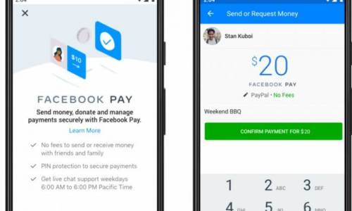 Facebook Pay launches