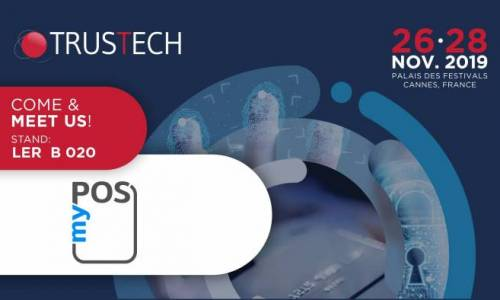 myPOS takes part in Trustech (Cartes) 2019
