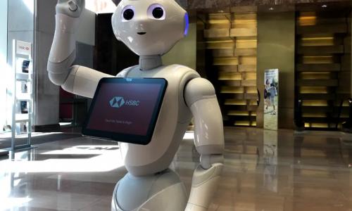 Pepper Power: HSBC Brings Robot Retail Banking to FinovateFall
