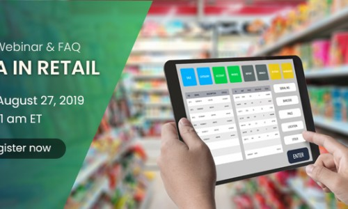 Webinar: RPA in Retail - The future of retail automation