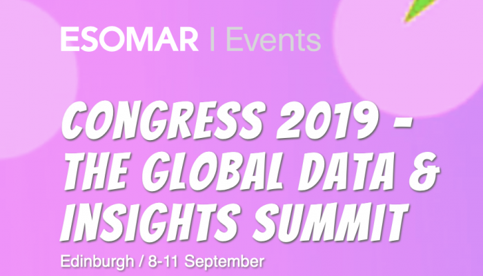 Congress 2019 - The Global Data and Insights Summit