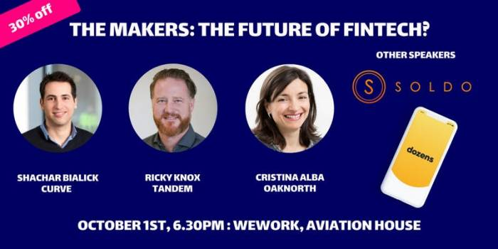 The Makers Live Podcast: The Future of FinTech by The Makers   Follow