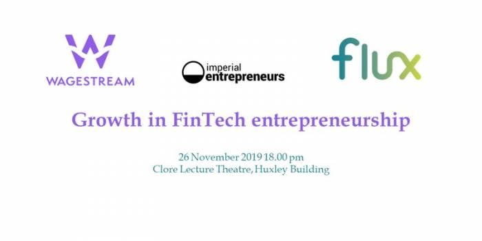 Growth in Financial Technology entrepreneurship