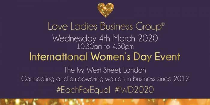 #LoveBiz International Women's Day Event - London