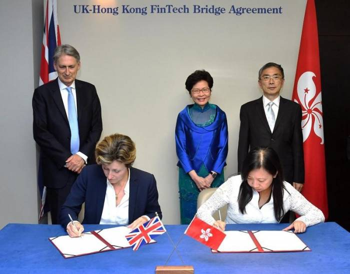 UK-Hong Kong FinTech Bridge