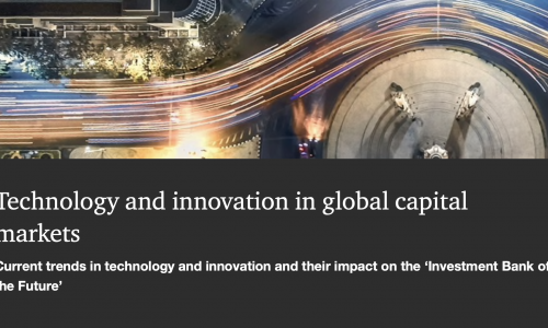 Technology and innovation in global capital markets