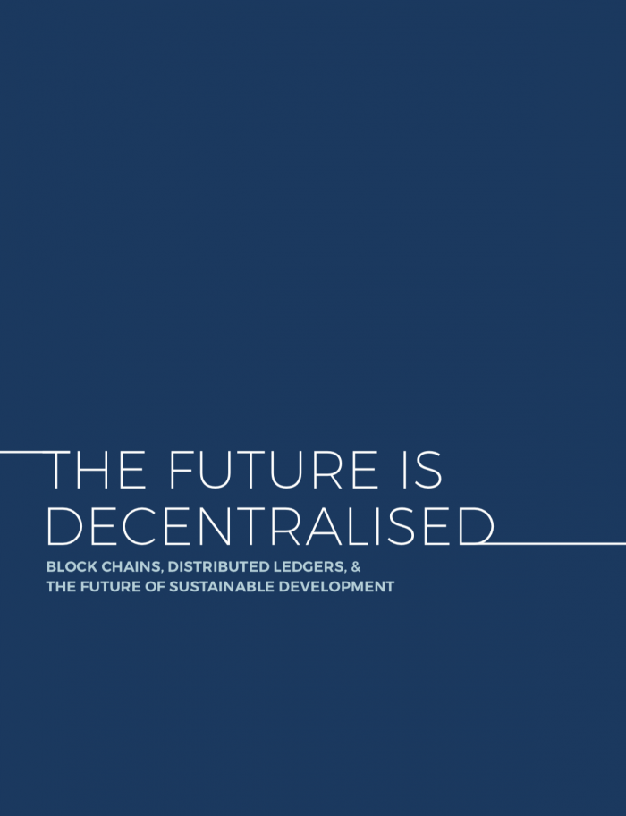 The Future is Decentralised