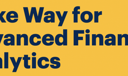 Make Way for Advanced Financial Analytics