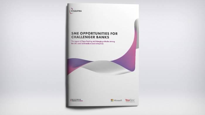 Finastra report: UK SME Opportunities for Challenger Banks